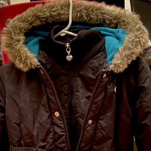 Winter Jacket with faux fur